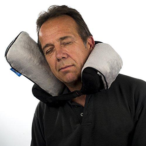 Soporte de cuello almohada de viaje - el único ebean con cojines laterales único - nuevo producto