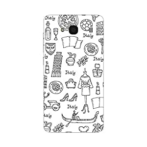Garmor Designer Plastic Back Cover For Xiaomi Redmi 2 Prime