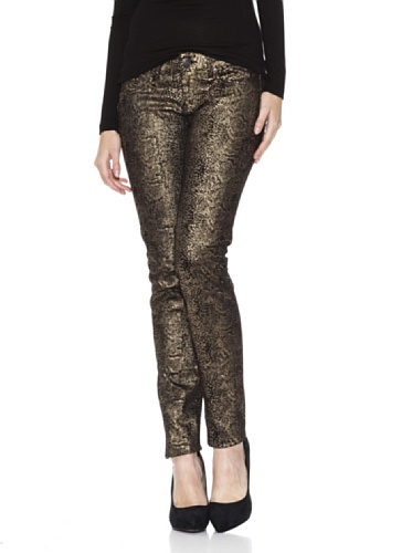 MANGO Damen Jeanshose gold W36