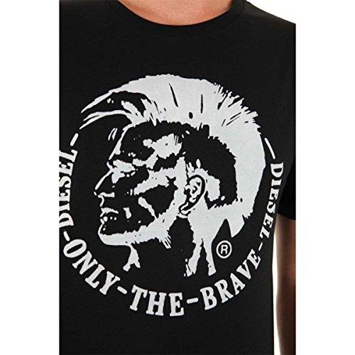 diesel-homme-camiseta-para-hombre-negro-y-blanco-m