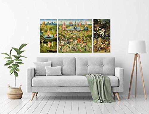 Zoom IMG-1 luxhomedecor quadro il giardino delle