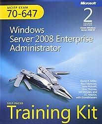 Self-Paced Training Kit (Exam 70-647) Windows Server 2008 Enterprise Administrator (MCITP) (2nd Edition) (Microsoft Press Training Kit) by David R. Miller (2011-06-25)