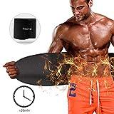 FREETOO Bauchgürtel Fitnessgürtel Schwitzgürtel mit Neoprenmaterial zur Fettverbrennung und Figurenstaltung Beschleunigen geeignet für Bodybuilding, Krafttraining, Muskelaufbau für Männer und Frauen