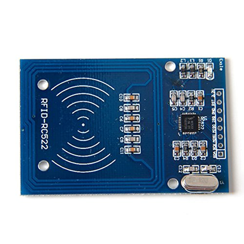 Mifare RC522modulo scheda per Card RF RFID Reader IC Card RFID Module Kits Key for Arduino, Raspberry Pi and other Development Board Experiments, Door, Lock and security