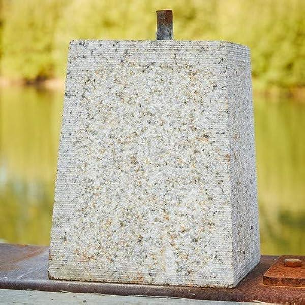 Tall Tapered Granite Staddle Stone//Settle Stone//Pad Stone//Oak Framed Buildings
