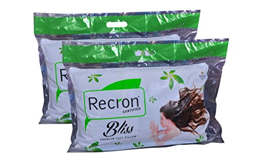 Recron Certified Bliss Pillow (17x27)  available at amazon for Rs.469