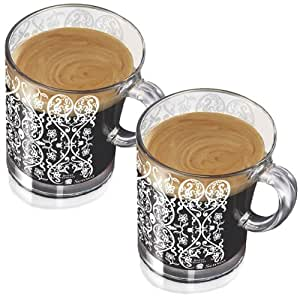 senseo marcel wanders design glastasse glas tasse kaffeetasse 150 ml 2er pack. Black Bedroom Furniture Sets. Home Design Ideas