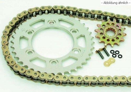 Enuma-Set per catena (pignone + ruota dentata + catena) per Aprilia 125MX '04# 11KW