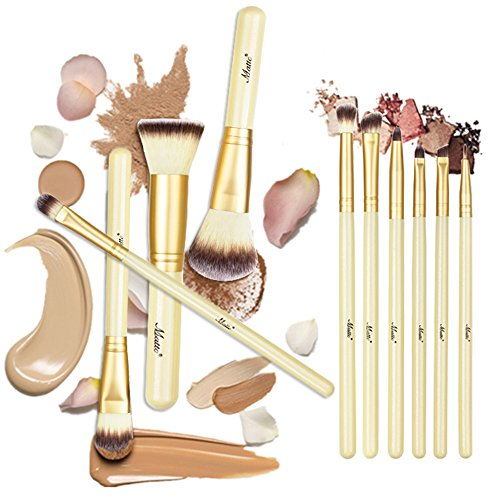 Make Up Brushes, Matto 10-Piece Professional Makeup Brush Set Make-up Kits with Cosmetics Brushes Holder