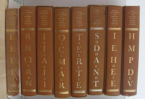 Histoire de la médecine de la pharmacie de l'art dentaire et de l'art vétérinaire (8 vols-complet) par Sournia Jean-charles, Martiny Marcel Poulet Jacques