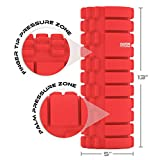 """Muscle Mauler Schaumstoffrolle - Massagerolle - Das Beste Massage Werkzeug für den Sport - mit *KOSTENLOSEM* Ebook für Ihre Übungen - Ideal für Massagen des Tiefengewebes, Myofasziale Entspannung, Linderung von Muskelschmerzen und Versteifung - 100%ige Lebenslange """"Besser-Als-Geld-Zurück"""" Garantie -"""