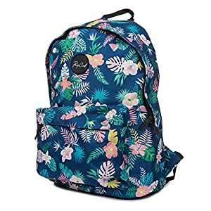 51yoNSOULvL. SS300  - Mochila Mujer Rip Curl Dome Flora - 18 Litre Azul (Default, Azul)