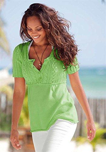 BOYSENS Damen-Pullover Pullover Grün Größe 36/38