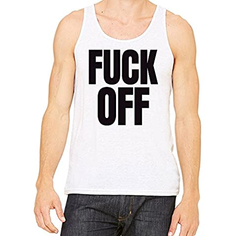 Fuck Off Slogan Camiseta Hombres Mujeres