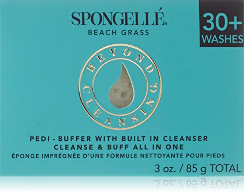 Spongellé Pedicure Infused Buffer, Beach Grass 92 g
