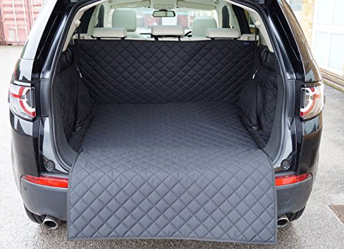 Preisvergleich Produktbild Land Rover Discovery Sport (5Sitze) (2015-present) gesteppt Wasserdicht Kofferraumwanne (schwarz)