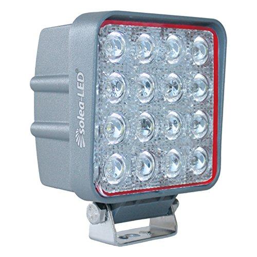 Preisvergleich Produktbild Solea-LED 191050 Arbeitsscheinwerfer 3600er Typ 3617D,  Grau [Energieklasse A++]