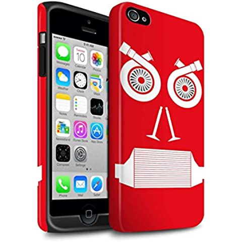 Stuff4Phone Case/Cover/Skin/ip4s-3dtbm/Car Parte caras Colección Turbo/Red