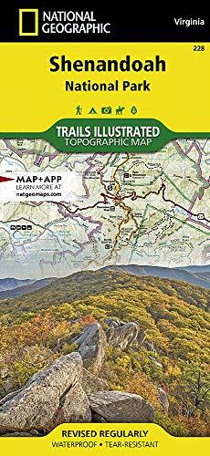 Shenandoah National Park: National Geographic Trails Illustrated USA Südosten (National Geographic Trails Illustrated Map, Band 228) -