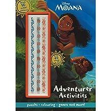 Disney Moana Adventurer Activities: Adventurer Activities with 10 Tribal Tattoos