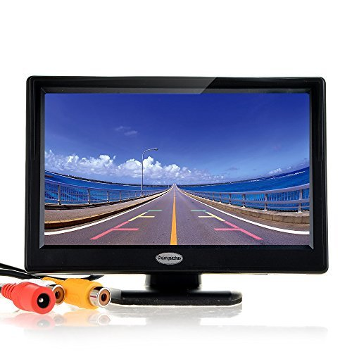 5 Inch Digital TFT LCD Color Car Rear View Monitor Screen for Parking Backup Camera Support all the car with 12V 24V Power High Definition 800 RGB X480 Pixel