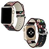 Best Acheter Montres d'Apple - Bracelet en Pu Cuir pour Apple Watch avec Review