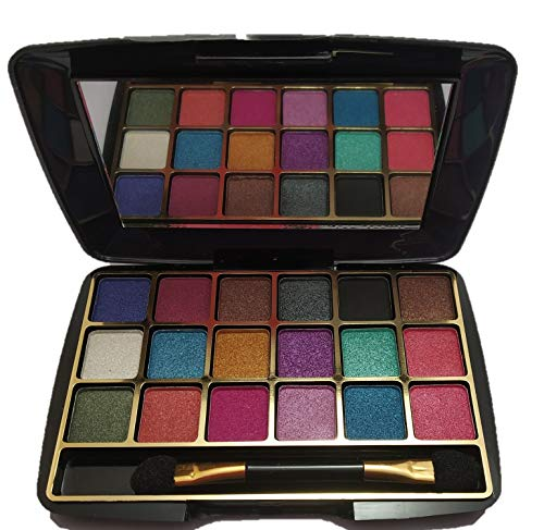 HALF N' HALF 18+ Colour Makhmali Pocket Size Eye Shadow