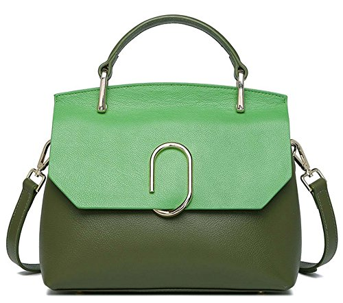 Xinmaoyuan Borse donna Borse in pelle colore Hit Single borsa tracolla Borsa in pelle Fashion Wild Bara pacchetto Shell Verde