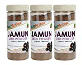 #7: NutrActive Jamun Seed Powder for Sugar Control | 100% Natural Jamun Guthli Powder - 150 gm (Pack of 3)