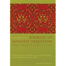 Sources of Japanese Tradition: 1600 to 2000 (English Edition)