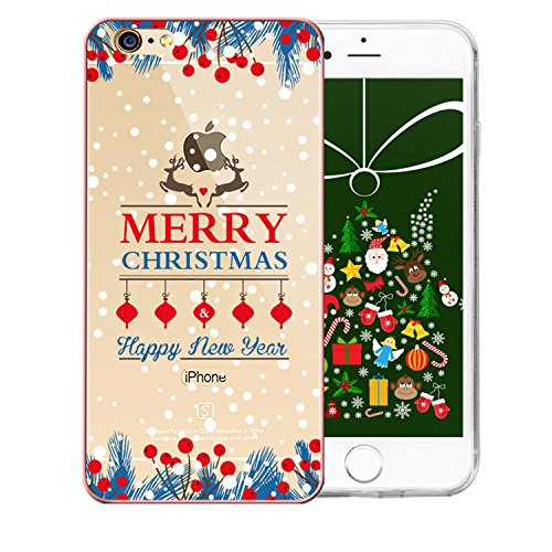 Sunroyal® Para iPhone 7 Plus Funda Transparente TPU Cáscara de Silicona de Gel Ultra-Slim Fit Carcasa Tapa Case Cover Funda de Diseño Alta Calidad [Anti-golpes] Smartphone Accesorios Caja del Teléfono para Apple iPhone 7 Plus 5.5