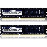 Timetec Hynix IC 16GB Kit (2x8GB) DDR3L 1600MHz PC3-12800 Unbuffered Non-ECC 1.35V CL11 2Rx8 Dual Rank 240 Pin UDIMM Bureau M