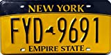 USA Nummernschild NEW YORK ~ US Kennzeichen LICENSE PLATE ~