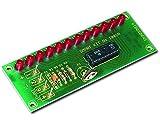 Unbekannt Donau Elektronik B1002 VU Messgerät mit LED, Mehrfarbig