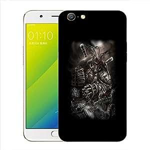 Snoogg Huge Monster Designer Protective Back Case Cover For Oppo A57