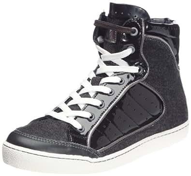 M By Monderer Shaq, Baskets mode homme - Noir/gris, 42 EU