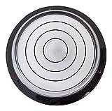 Dosenlibelle Große runde Wasserwaage mit Luftblase – Werkzeug für Uhren, Hobby, Kamera, Plattenspieler und Wohnmobil