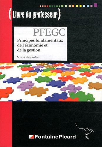 PFEGC 2e d'exploration : Livre du professeur (1Cédérom)