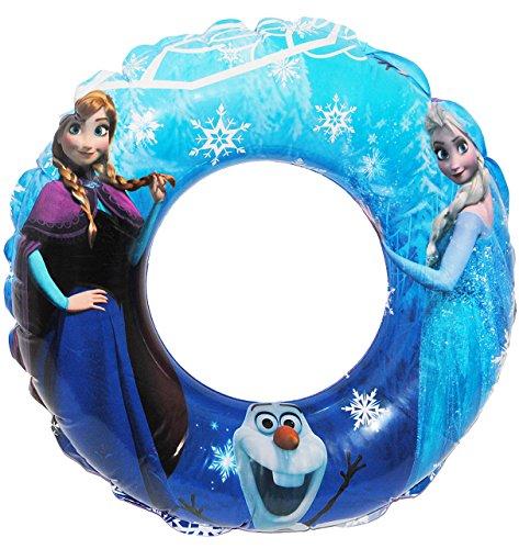 alles-meine.de GmbH Schwimmring aufblasbar -  Disney die Eiskönigin - Frozen  - passend für 2 bis 6 Jahre - Schwimmreifen & Schwimmhilfe - für Mädchen & Jungen - aufblasbar - K..