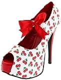 Pinup Couture Teeze-25-3 - Sexy Zapatos de Tacón Alto Mujer Plataforma - Tamaño 36-42, US-Damen:EU-40/41/US-10/UK-7