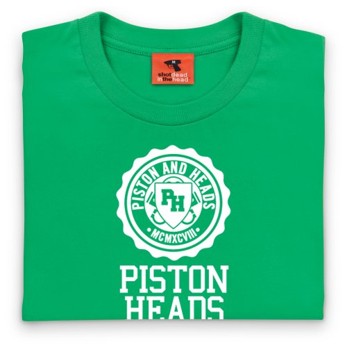 PistonHeads Franklin Piston T-Shirt, Herren Keltisch-Grn