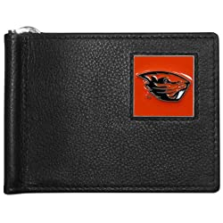 NCAA Oregon State Beavers Leather Bill Clip Wallet