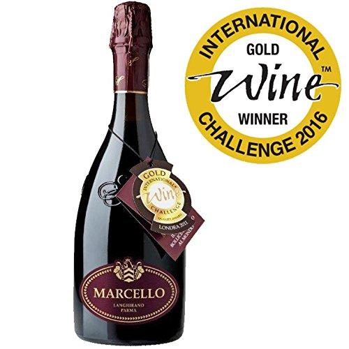 6 bottiglie Lambrusco I.G.T. GRAN CRU MARCELLO Cantine Ariola (vendita solo in Italia)