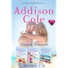 Sweet with Heat: Seaside Summers, Contemporary Romance Boxed Set, Books 1-3: Read, Write, Love at Seaside - Dreaming at Seaside - Hearts at Seaside (English Edition)