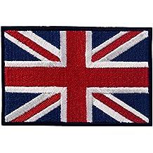 Brit¨¢nico Bandera del Reino Unido Inglaterra Emblema Gran Breta?a Parche Bordado de Aplicaci¨®n con Plancha