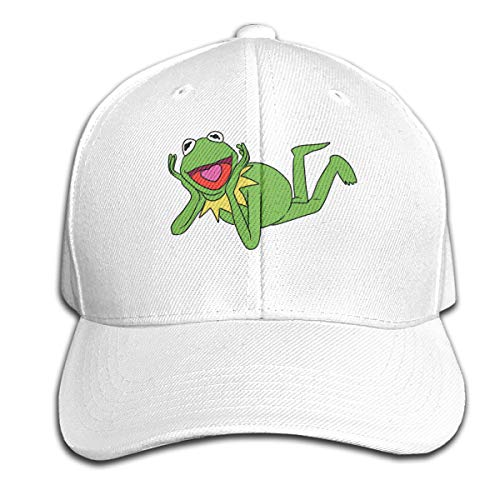 Osmykqe Kermit The Frog 1 Unisex Sommer Sonnenhut einstellbar lässig Golf Tennis Caps - Kleinkind Baseball-cap Boston
