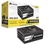 Corsair (CP-9020084-UK) RMi Series RM1000i ATX/EPS Fully Modular 80 PLUS Gold 1000W Power Supply Unit UK - Black