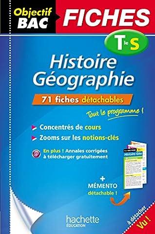 Objectif Bac Fiches Détachables Histoire-Géographie Term S