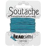 Beadsmith Soutache - Cordón de poliéster, 3 mm, 2,7 m