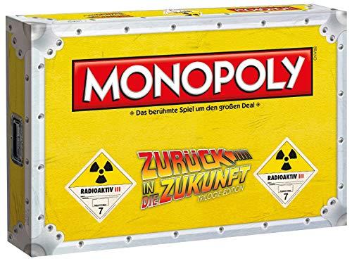 Monopoly Zurück in die Zukunft Edition - Das Brettspiel zur Film-Trilogie (Deutsch)